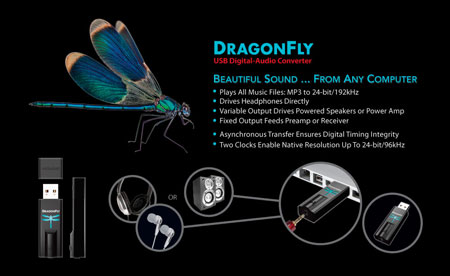 AudioQuest DragonFly USB Digital-Audio Converter