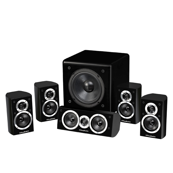 Wharfedale DX-1HCP Black 5.1 system