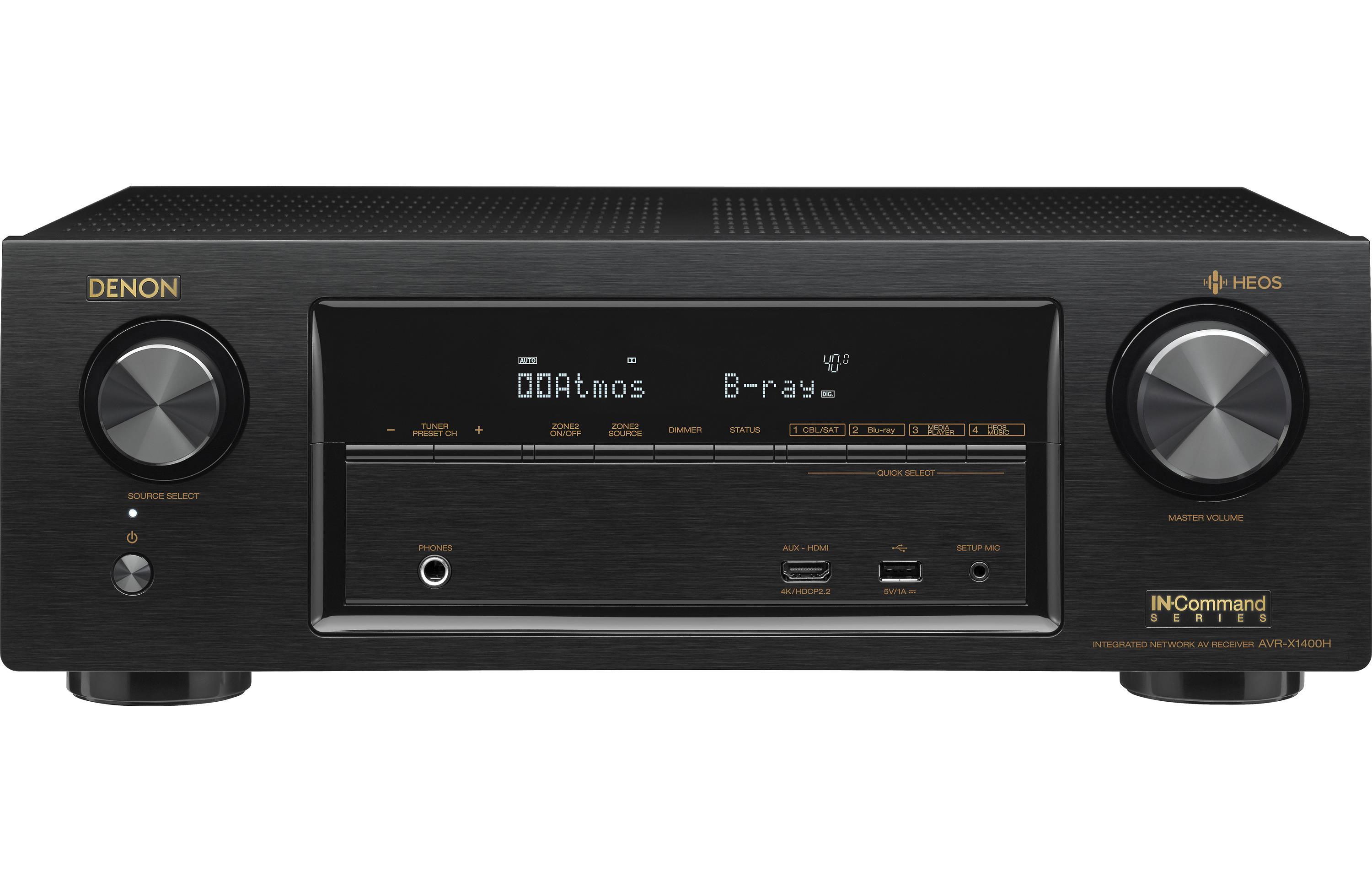 Denon AVR-X1400H IN-Command