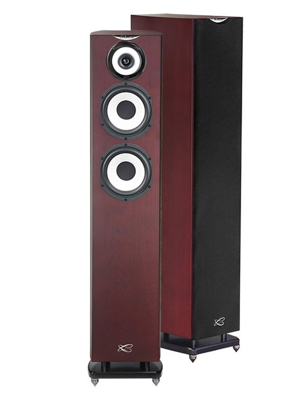 Cabasse Java speaker 1 pair red cherry