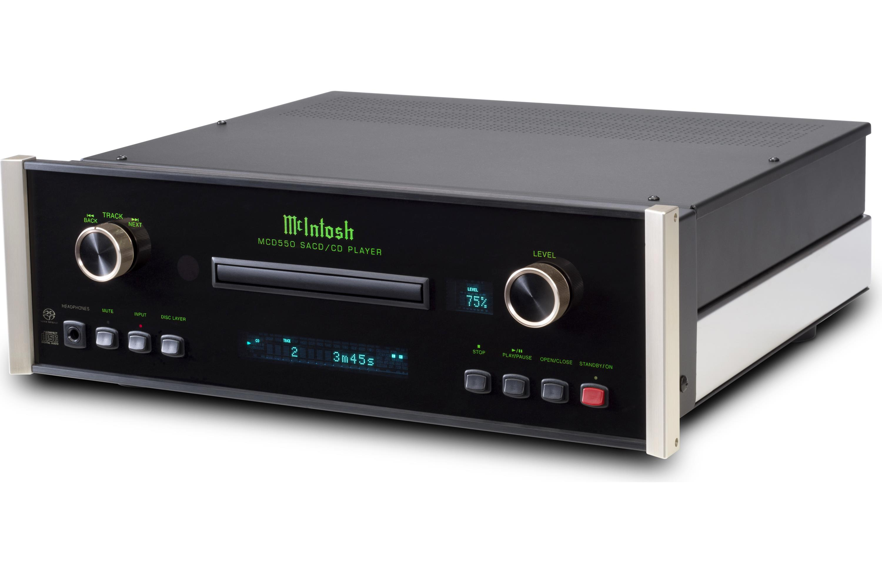 McIntosh MCD550 Stereo SACD/CD player/DAC/preamp