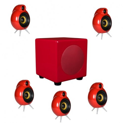 SCANDYNA Micropod/Sub 5.1 system RED