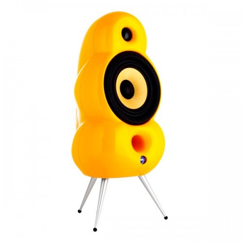 Scandyna Minipod Mk2 Yellow with spikes (pair)
