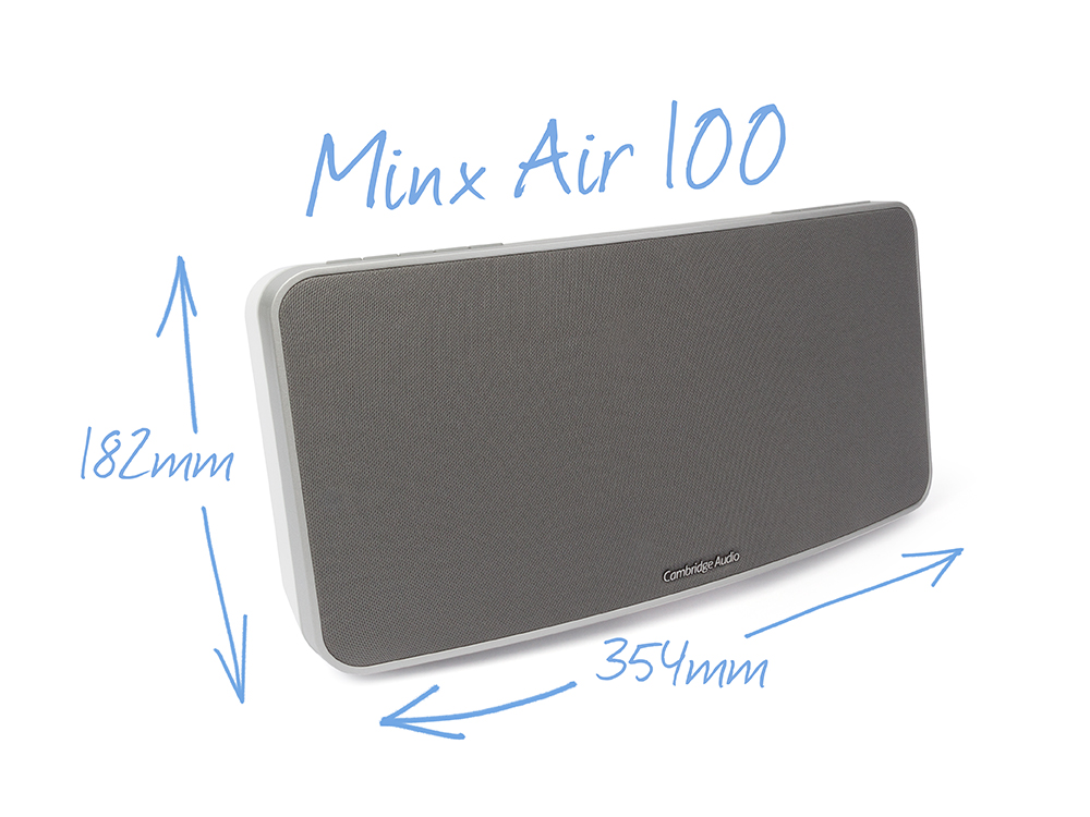 Minx Air 100 WiFi speakers White