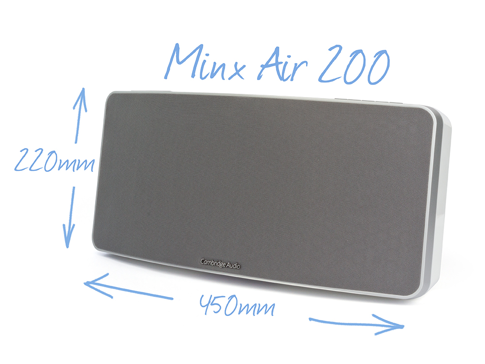 Minx Air 200 WiFi speakers Black