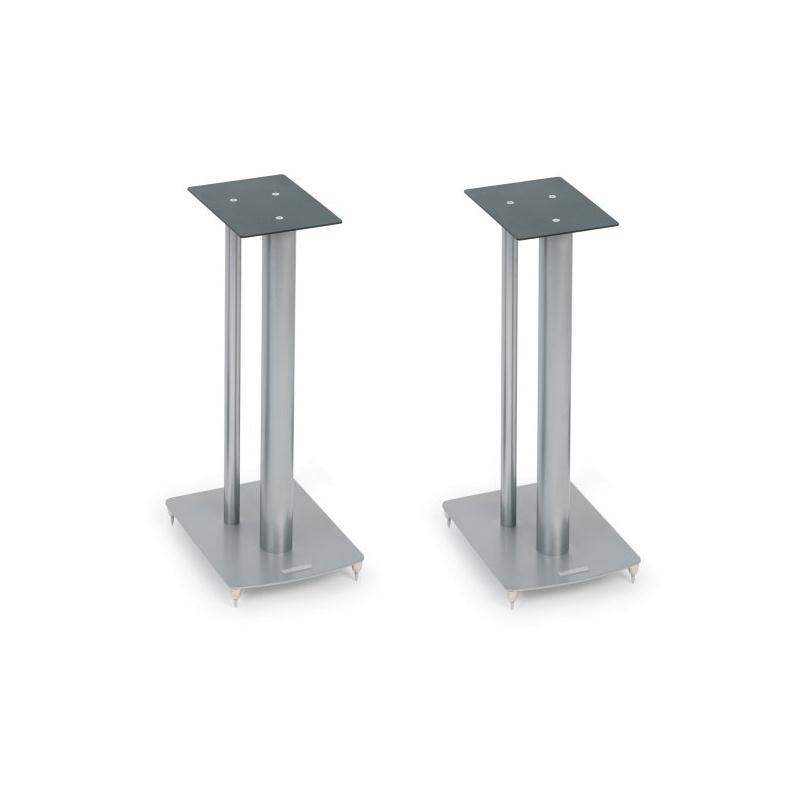 The Mission Stancette Speaker Stands silver