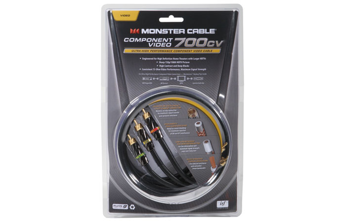 Monster Cable MC 700CV-1M Component Video Cable (1m)