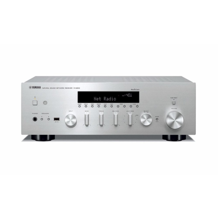 Yamaha MusicCast R-N602 Stereo Network Receiver (silver)