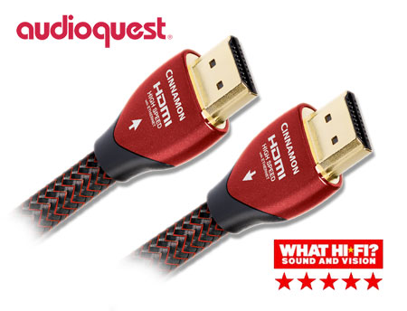 AudioQuest Cinnamon HDMI 2.0 ver Cable 0.6m