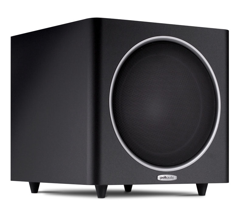 Polk Audio PSW110 10-inch freestanding subwoofer black