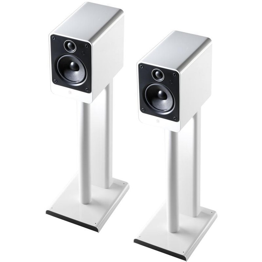 Q Acoustics QA2115 - Q2000 Series Speaker Stand Pair in Gloss Wh