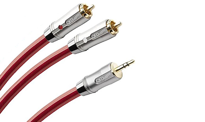 QED Reference Audio Jack To Phono Cable 1.5m