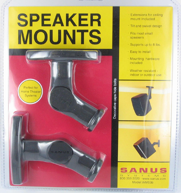 Sanus Systems Wms3 Black