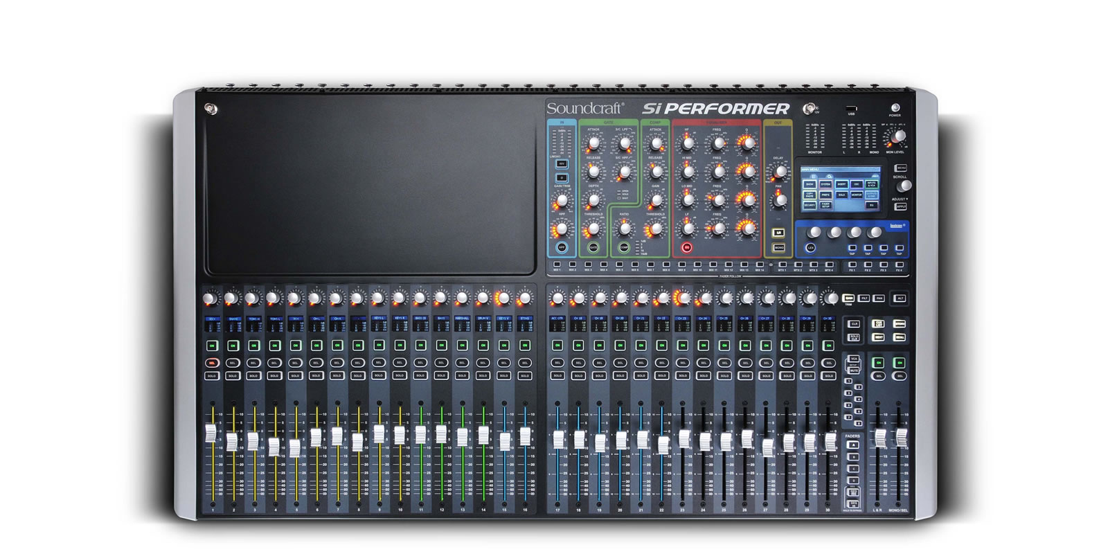 Soundcraft Si Performer 3 - 32 Mic preamp 8 stereo Digital Audio