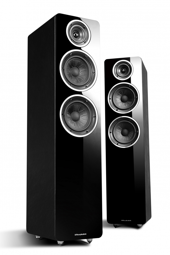 Wharfedale a2 active speaker 1 pair