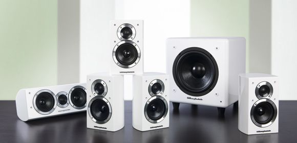 Wharfedale DX-1HCP White 5.1 system