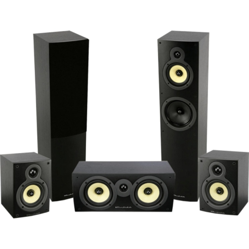 WHARFEDALE CRYSTAL 4 5.0 SYSTEM (BLACK)